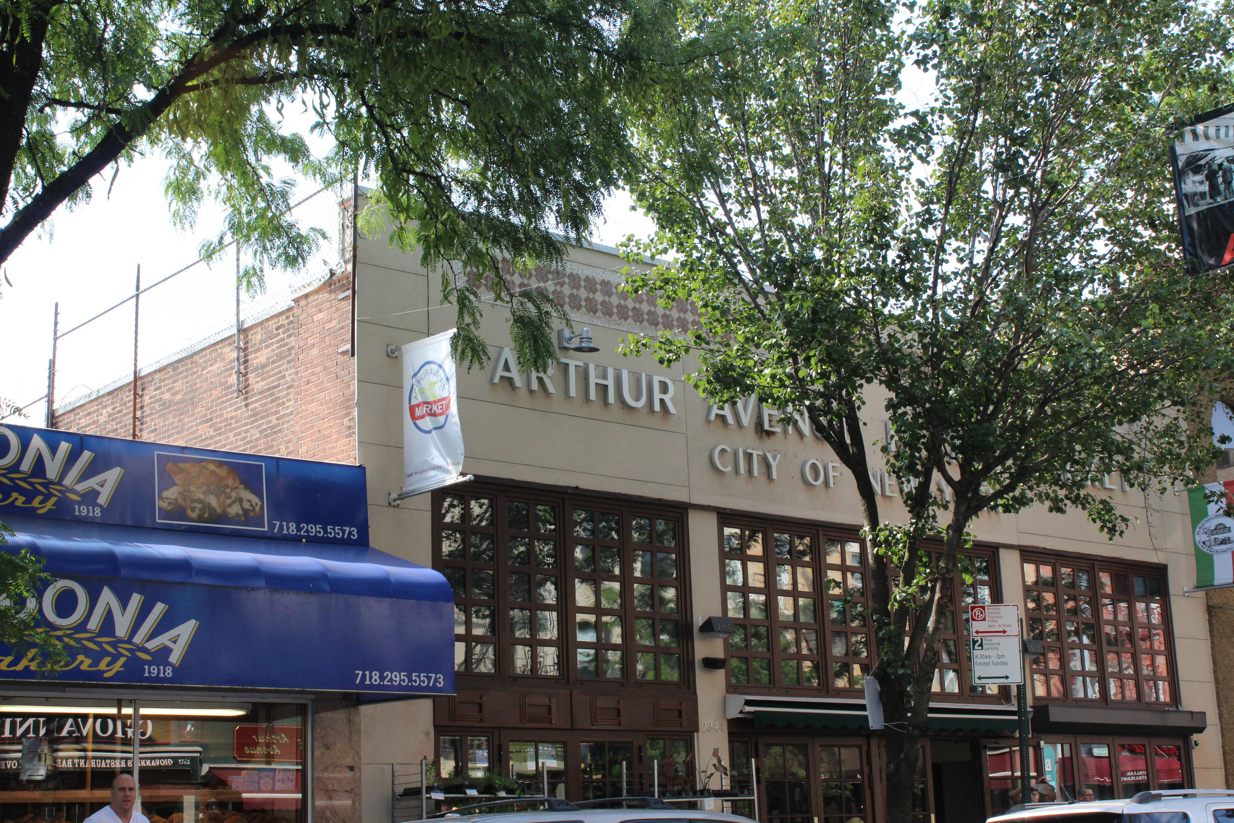 Madonia is right next to the Arthur Avenue Retail Market