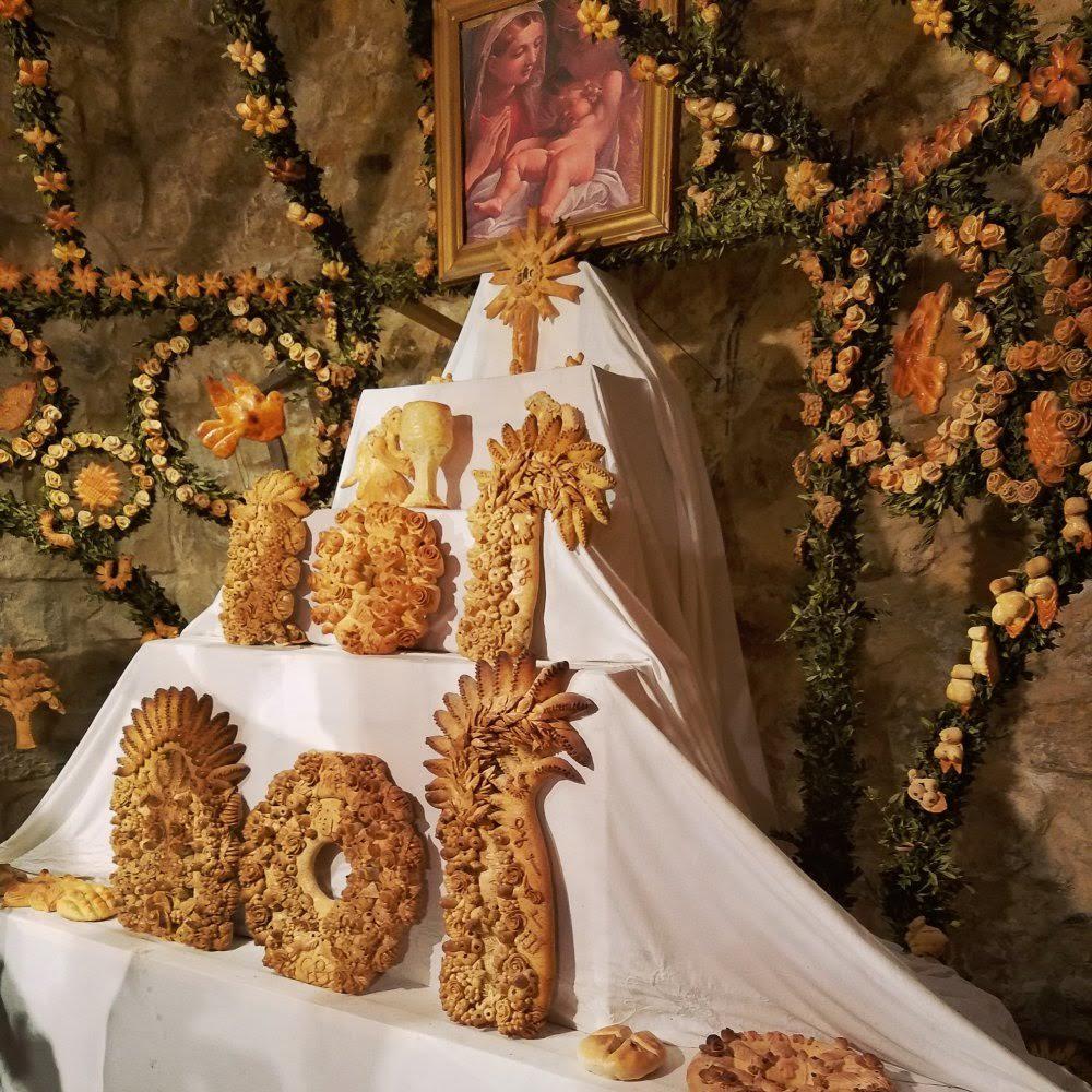 St Joseph bread altars