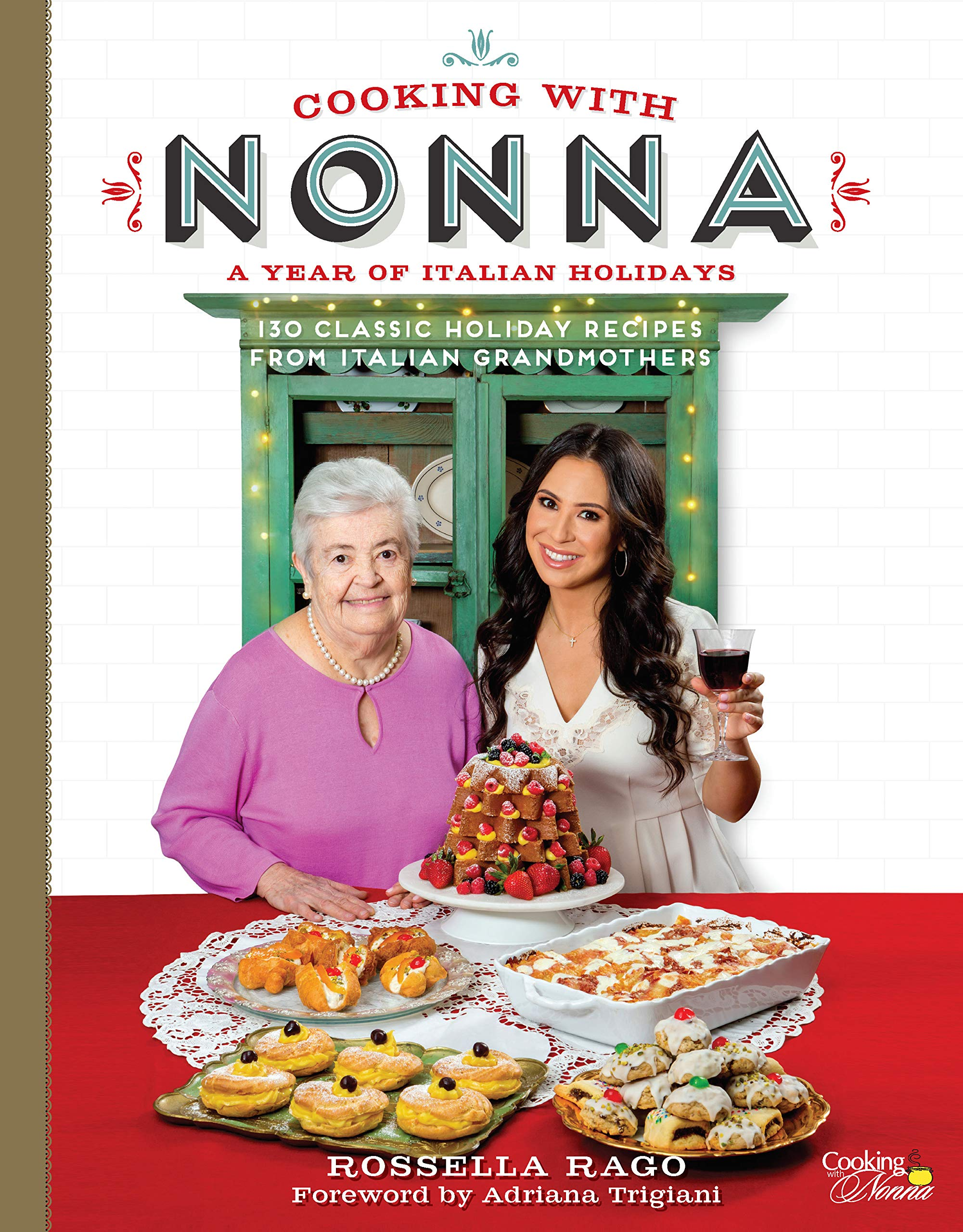 Cooking with Nonna Cookbook giveaway