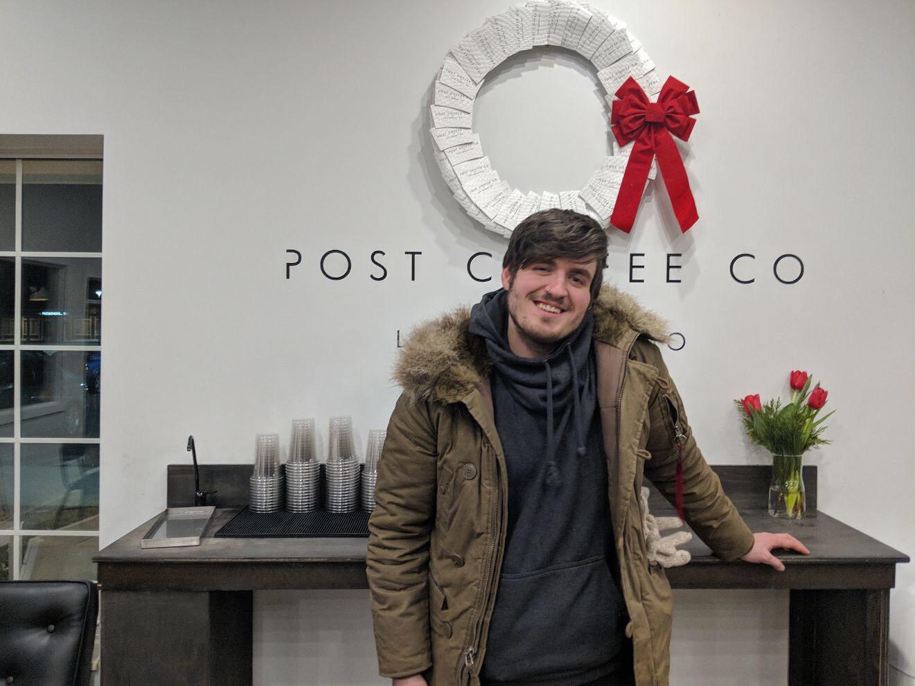 Edward Griffin   PT's Coffee Roasting Co. – Topeka, KS