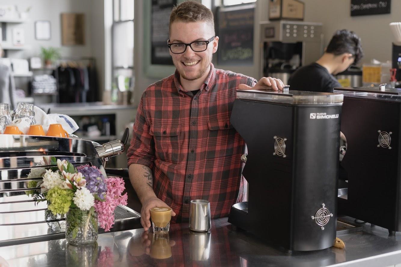 Milo DeGoosh   Bard Coffee – Portland, ME