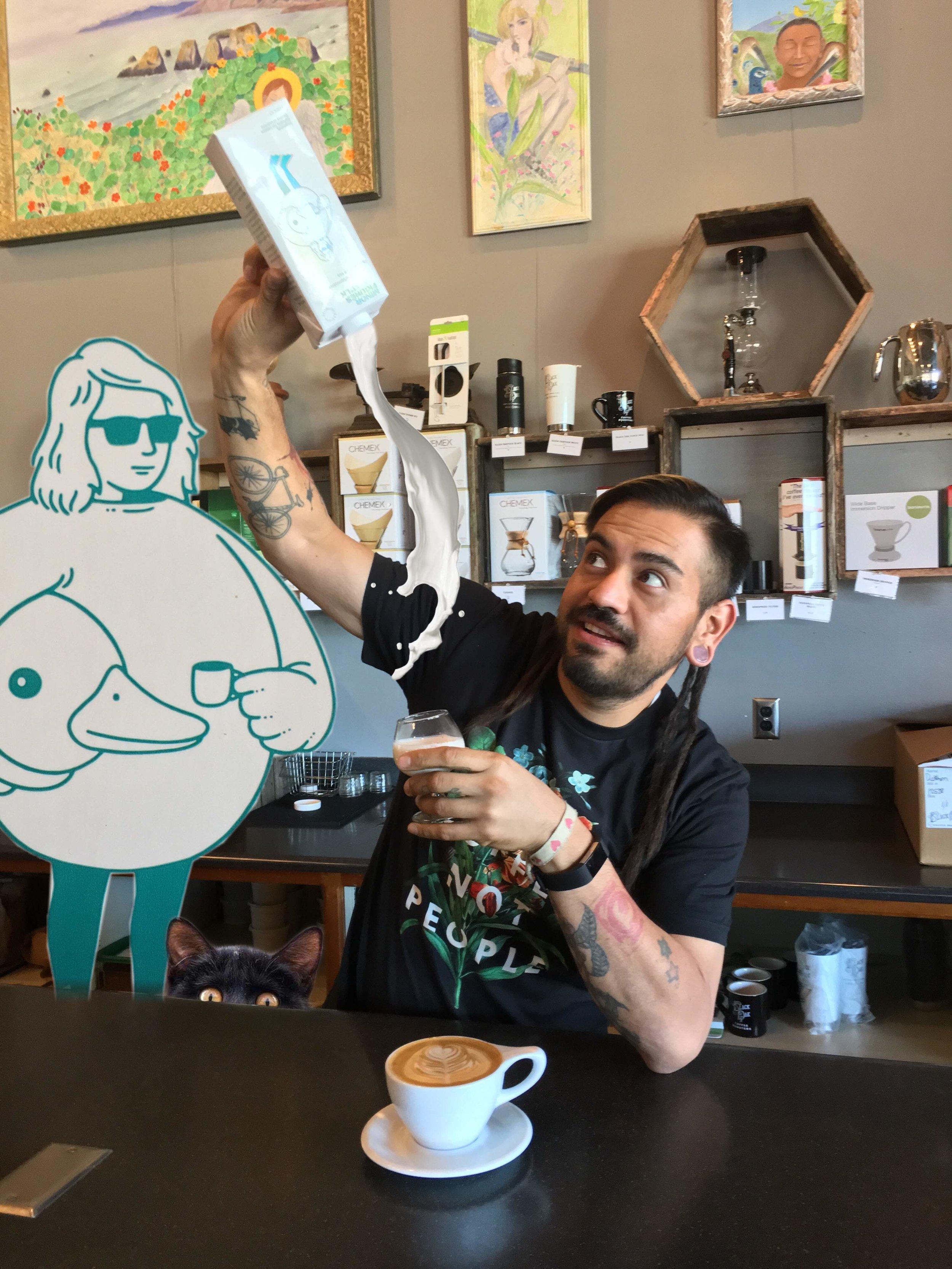 Steve Cuevas   Black Oak Coffee Roasters – Ukiah, CA