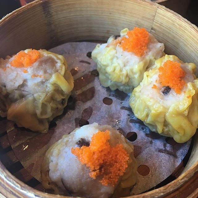 Pork and shrimp #shumai are little #dumplings from heaven. They're also only $5 during #happyhour 4-7! Regram and thanks @adolfosuaya #beverlygrove #beverlyhills #dinnertime #yum #foodporn #bao #baodimsum #dimsum #baodimsumrestaurant #chinesefood #asianfood