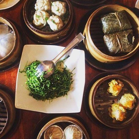 A feast! Regram and thanks @forkiteatit #bao #baodimsum #baodimsumrestaurant #chinesefood #asianfood #dimsum #dumplings
