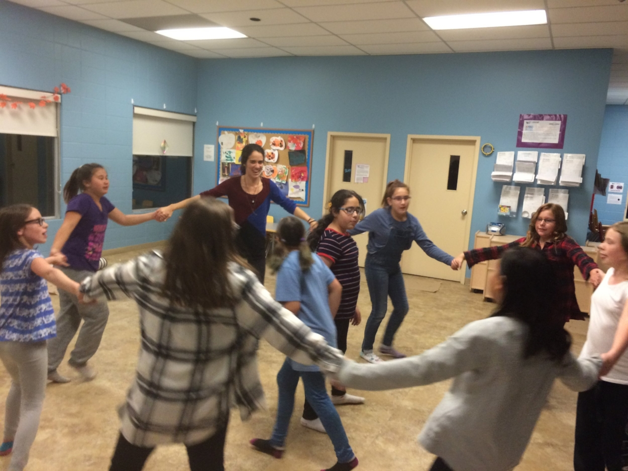 The participants in our GEMS (Girls Empowerment and Mentorship) after-school program at the Huntington Hills Community Association in 2017 really took on the group support aspect of the program. They all expressed at the end of the 6 weeks that 'making new friends' was their favourite part of the program!