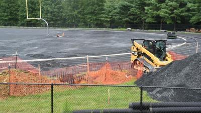Field installation at Montgomery Blair High School, Maryland