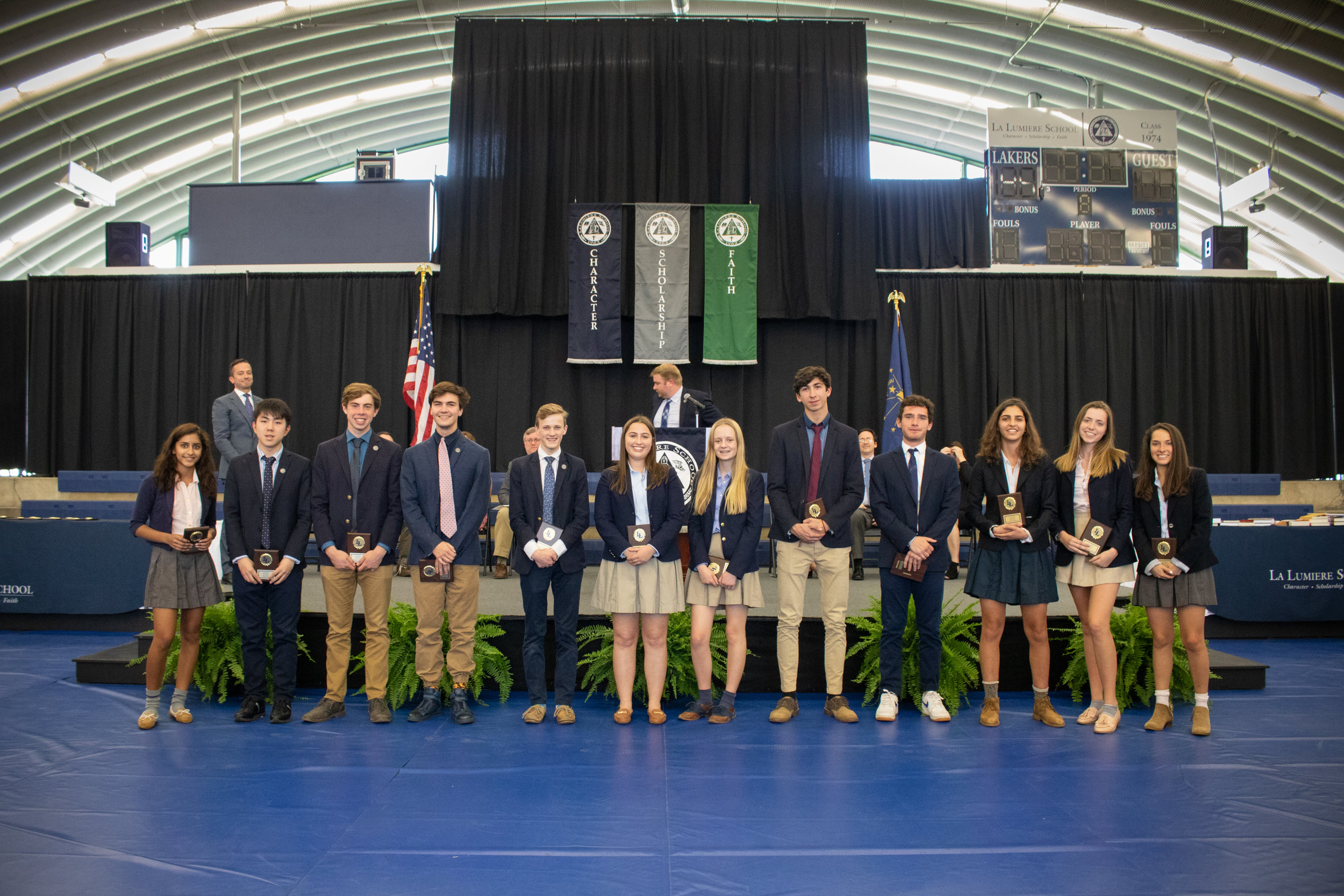 Excellence in Performance and Laker Award winners for the fall season in athletics