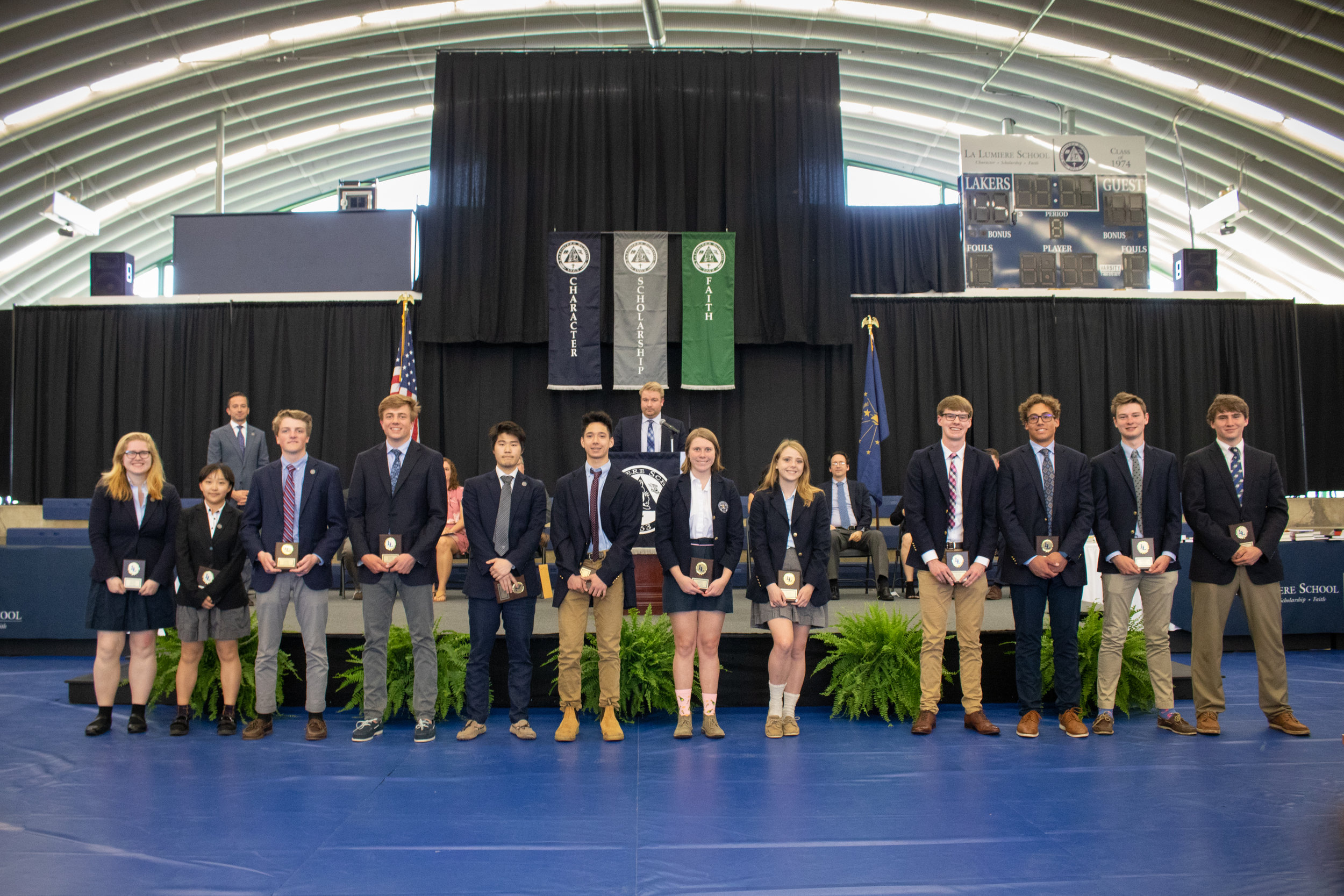 Excellence in Performance and Laker Award winners for the spring season in athletics