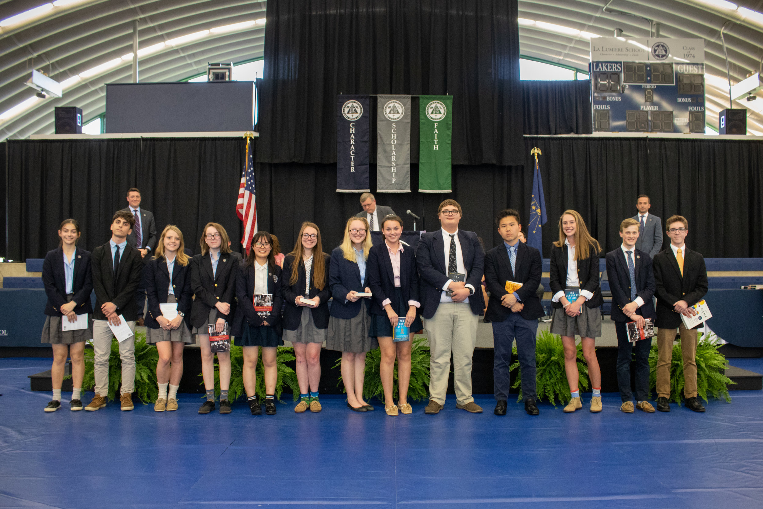 Academic awards from the Science Department