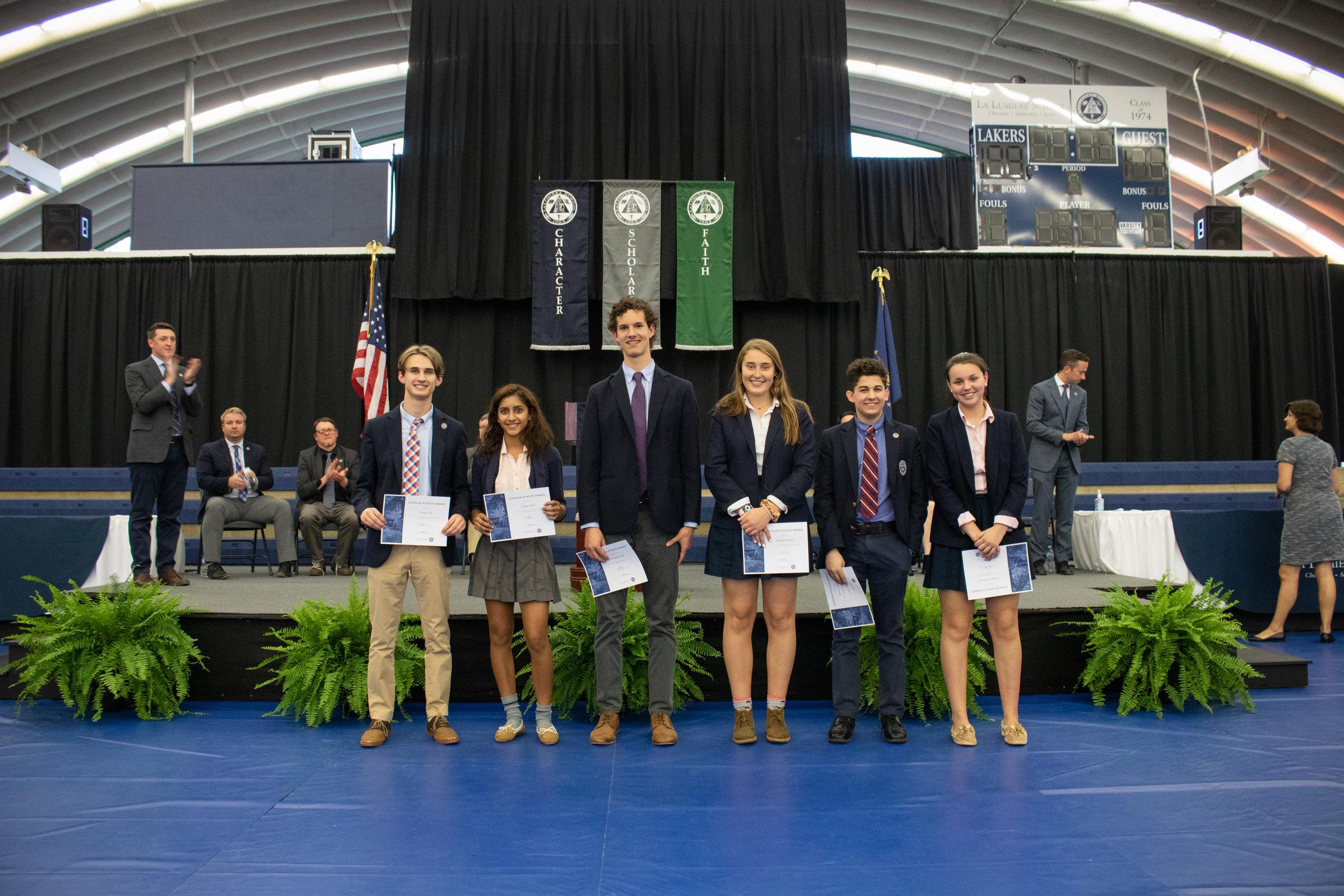 Scholar-Athlete Award winners
