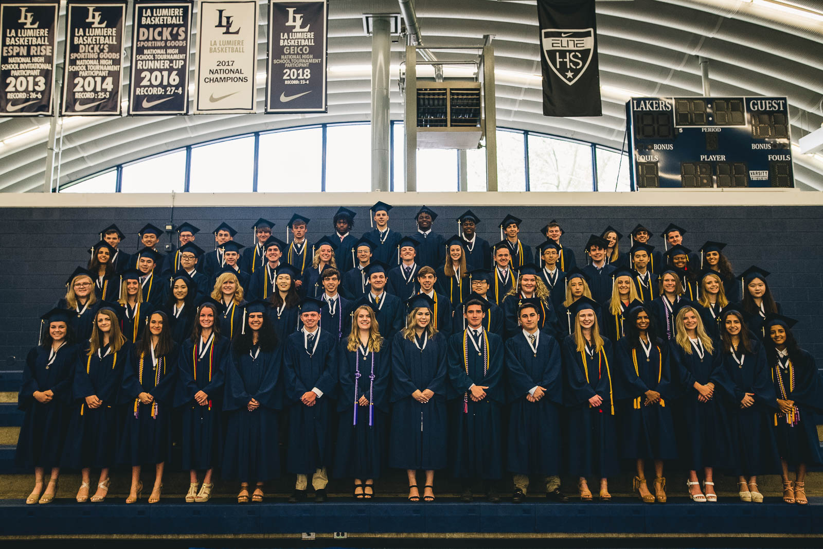 La Lumiere School's Class of 2019 is comprised of 62 students who will be attending colleges in over 20 states and at least two countries outside the U.S. this fall.