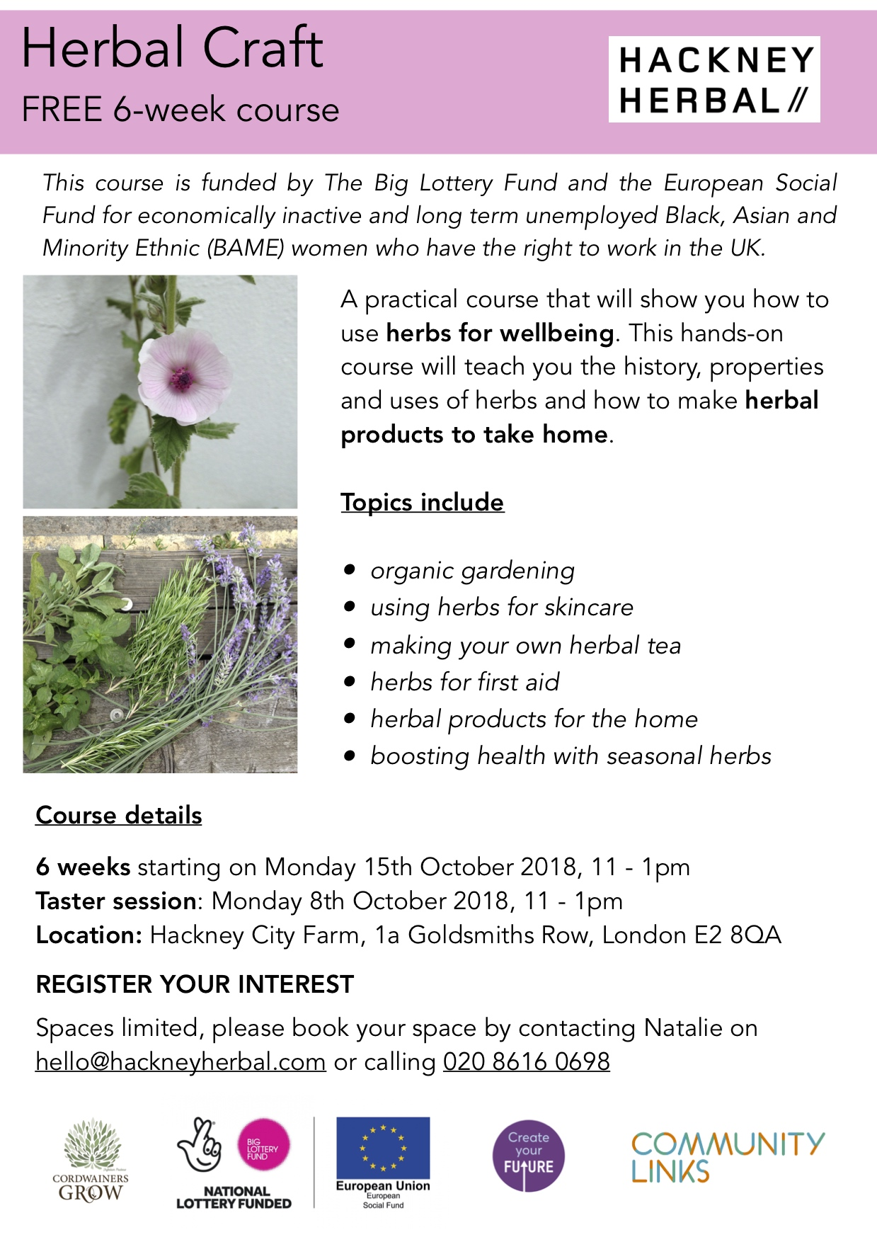 Herbal Craft Flyer, 6 week course.jpg