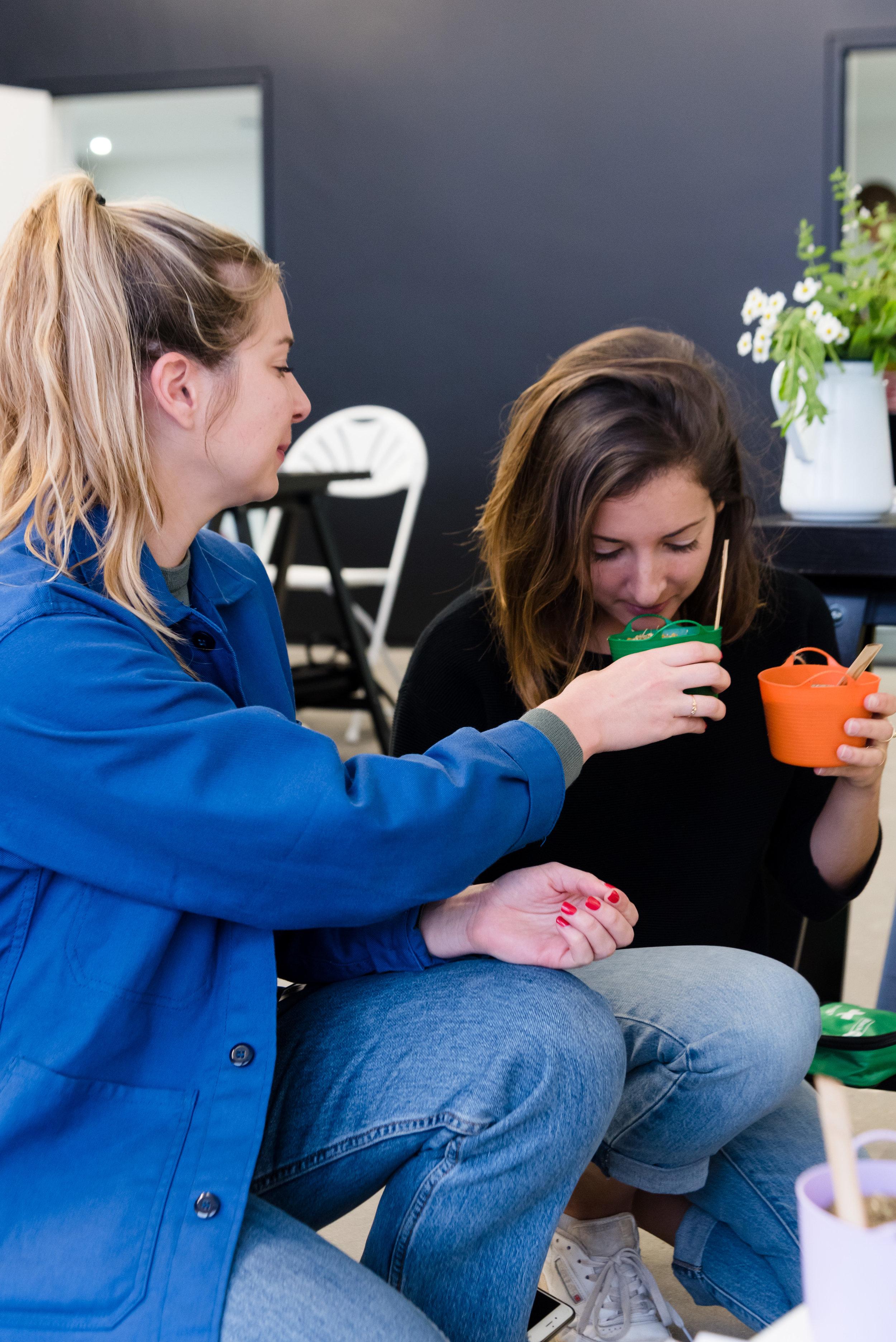 Hackney Herbal | Smelling herbs.jpg