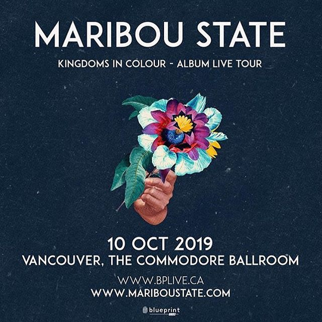 JUST ANNOUNCED: @blueprintevents presents @mariboustate on Oct. 10! Join the Facebook event for presale details and more info.