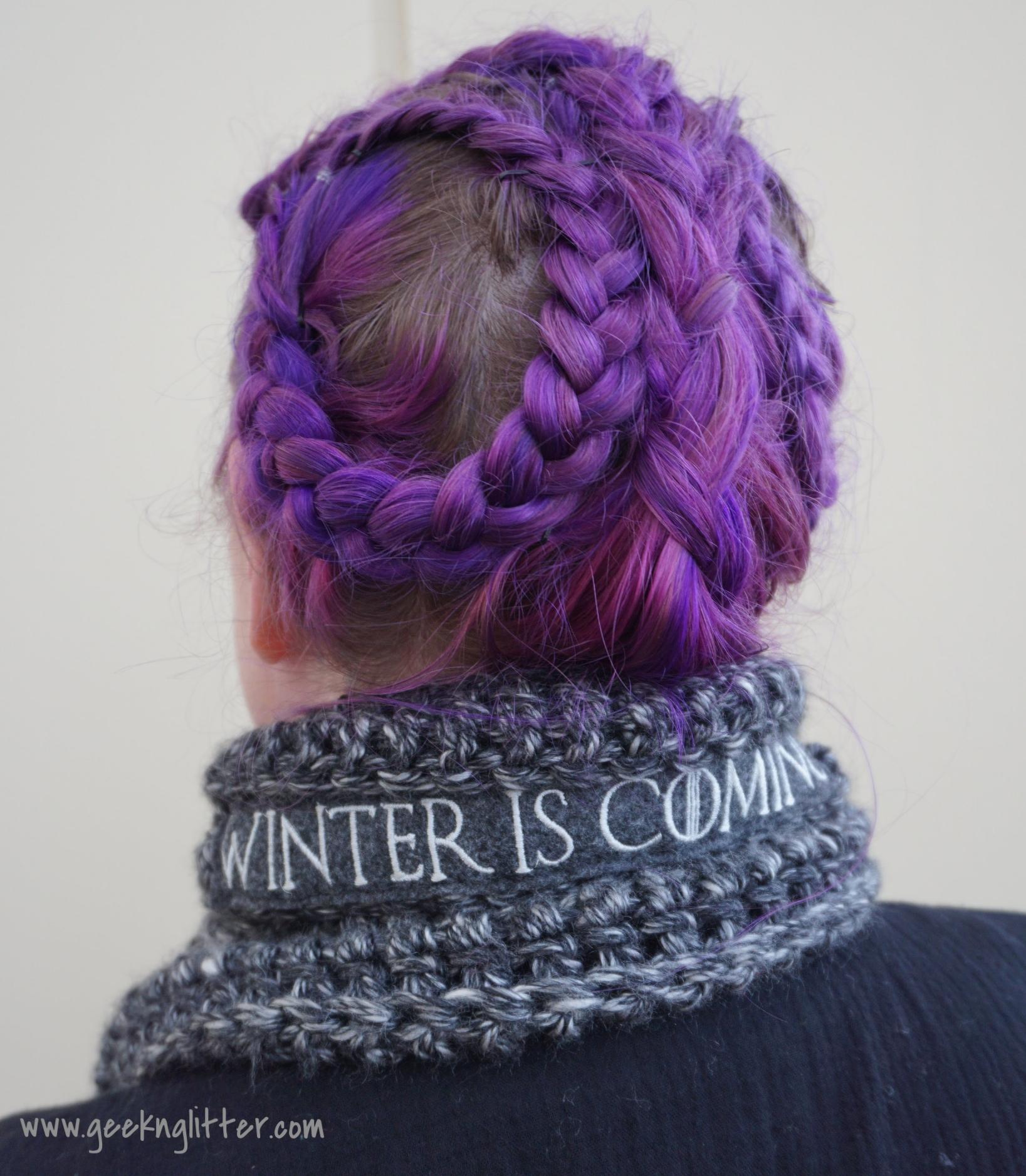House Stark scarf by Frakkin Frocks