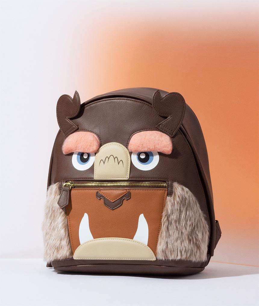 Beast Faux Fur Backpack