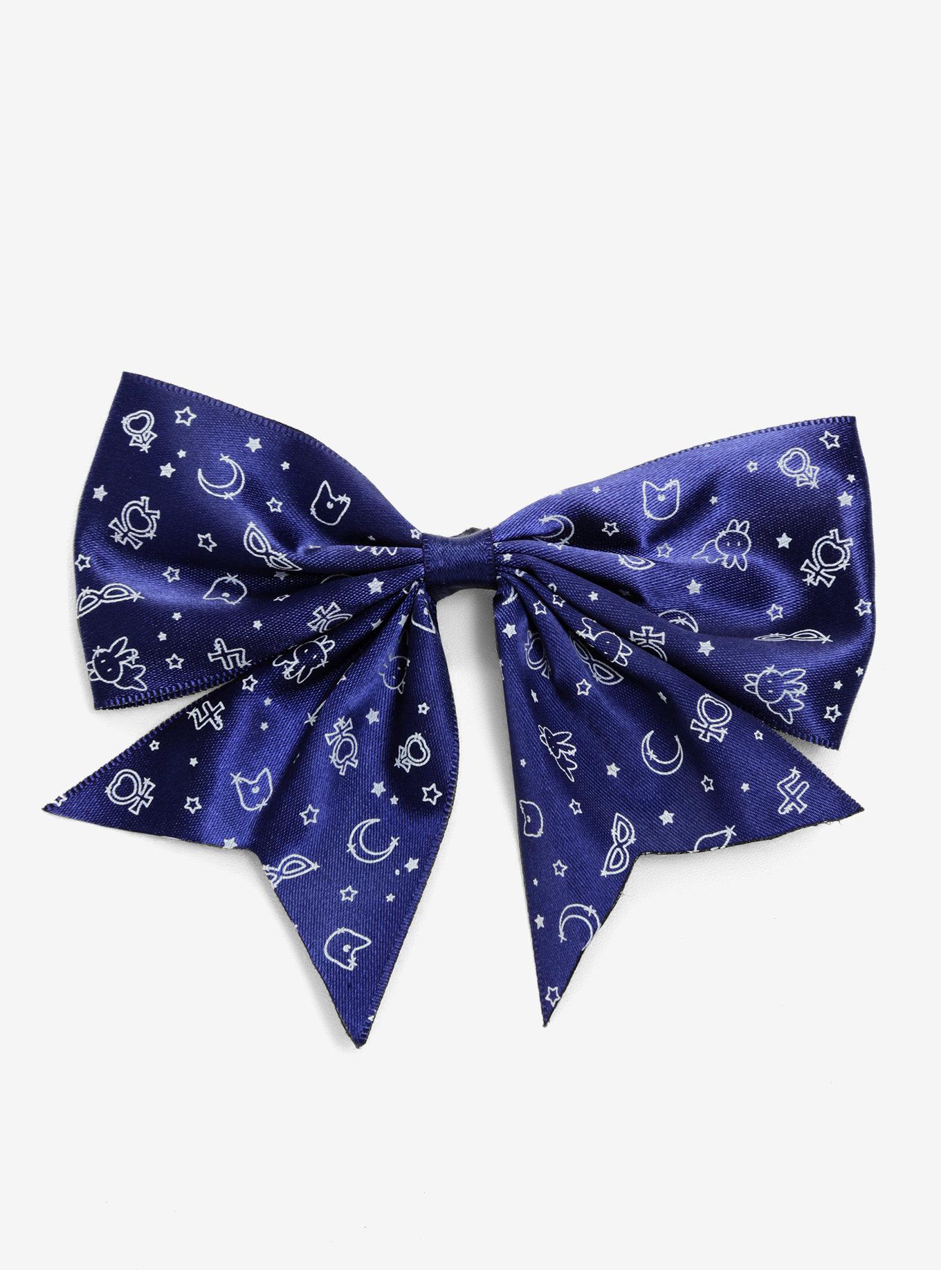 Sailor Moon Luna Print Bow