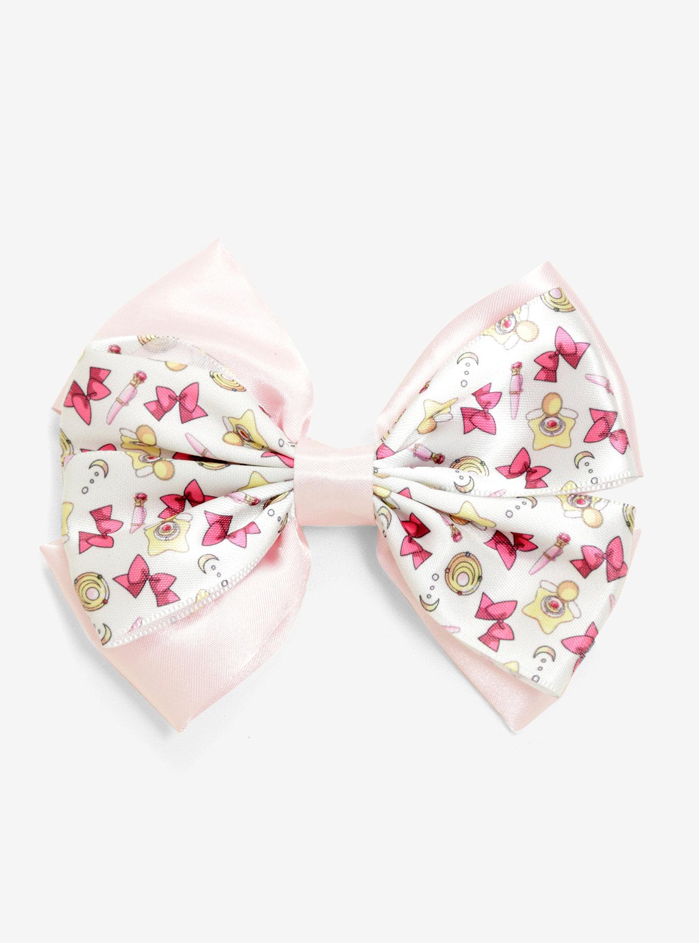 Sailor Moon Compact Print Bow