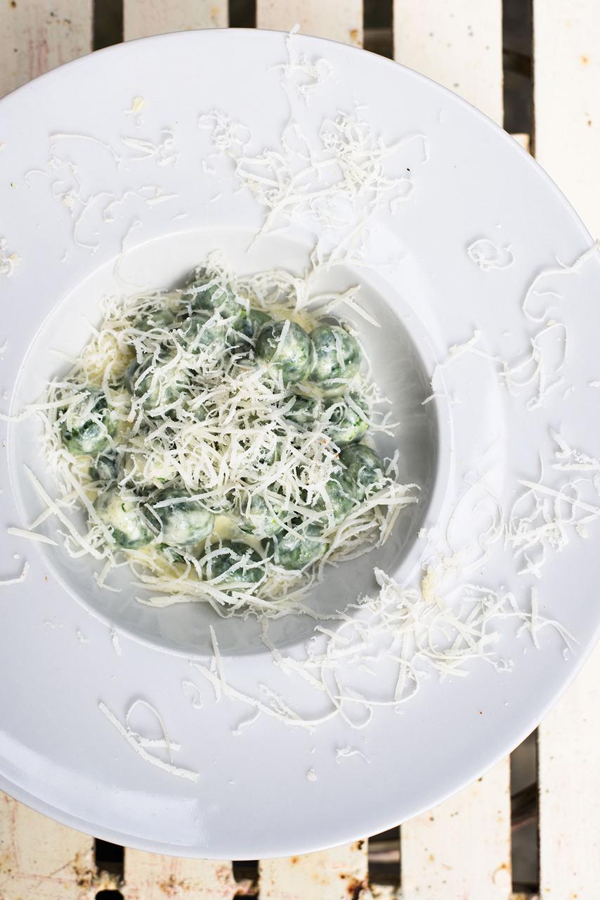 Fresh plate of pasta