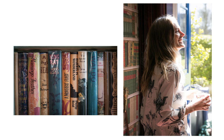 Leah de Wavrin in London.
