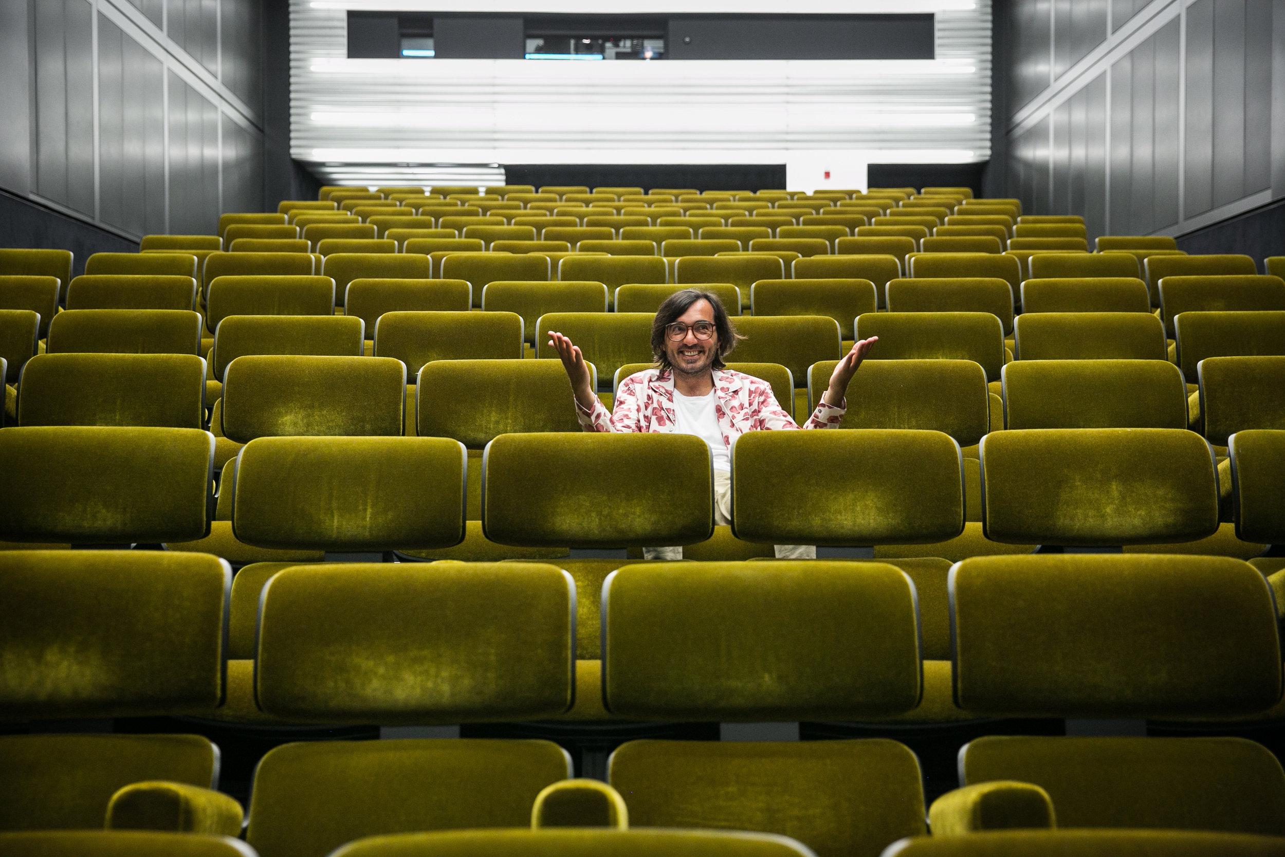 Efe Cakarel at the Fondazione Prada.