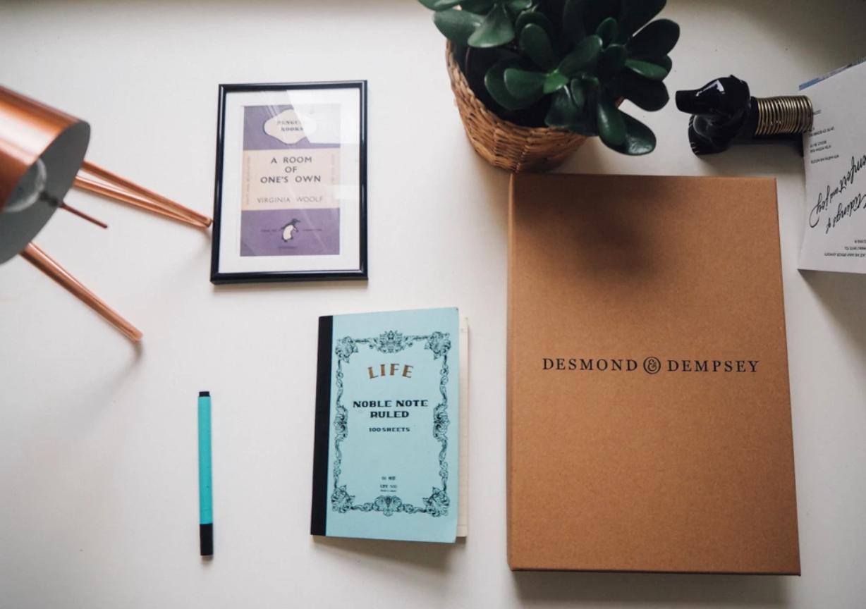 Desmond and Dempsey notebook