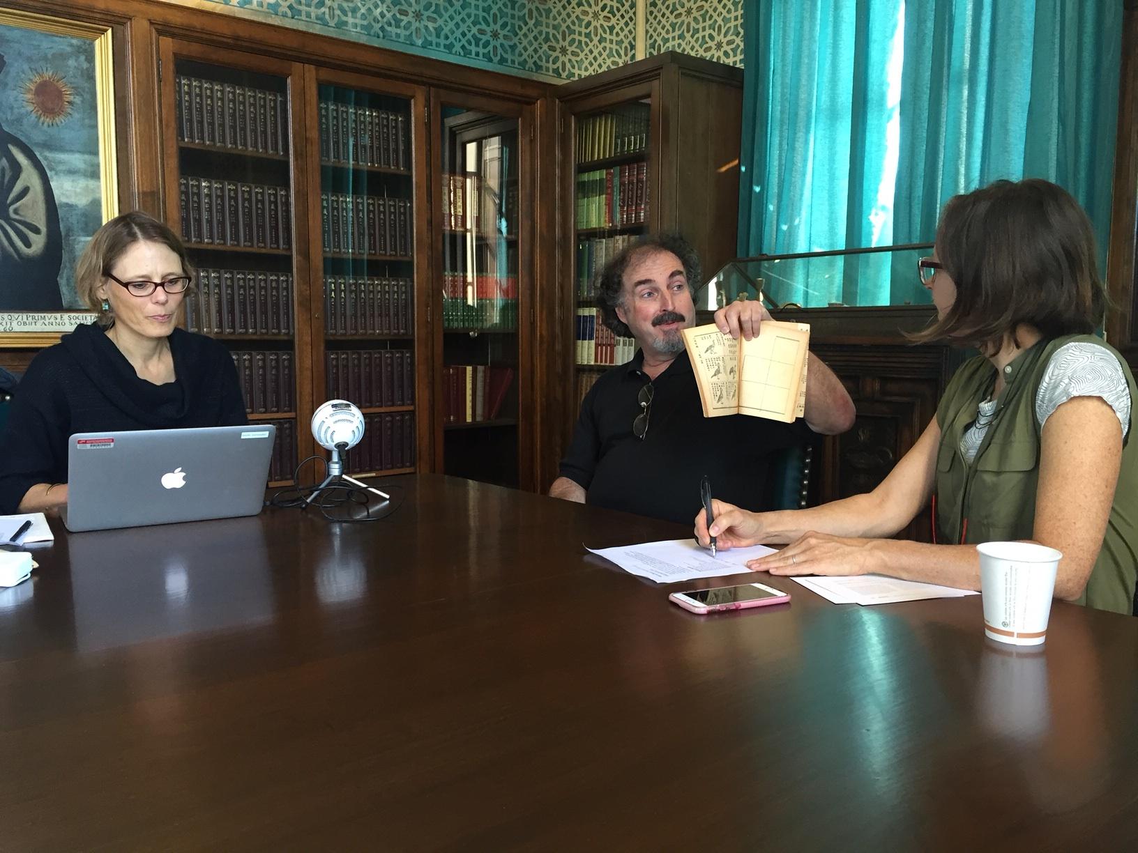 Interview with Mark Mir, archivist
