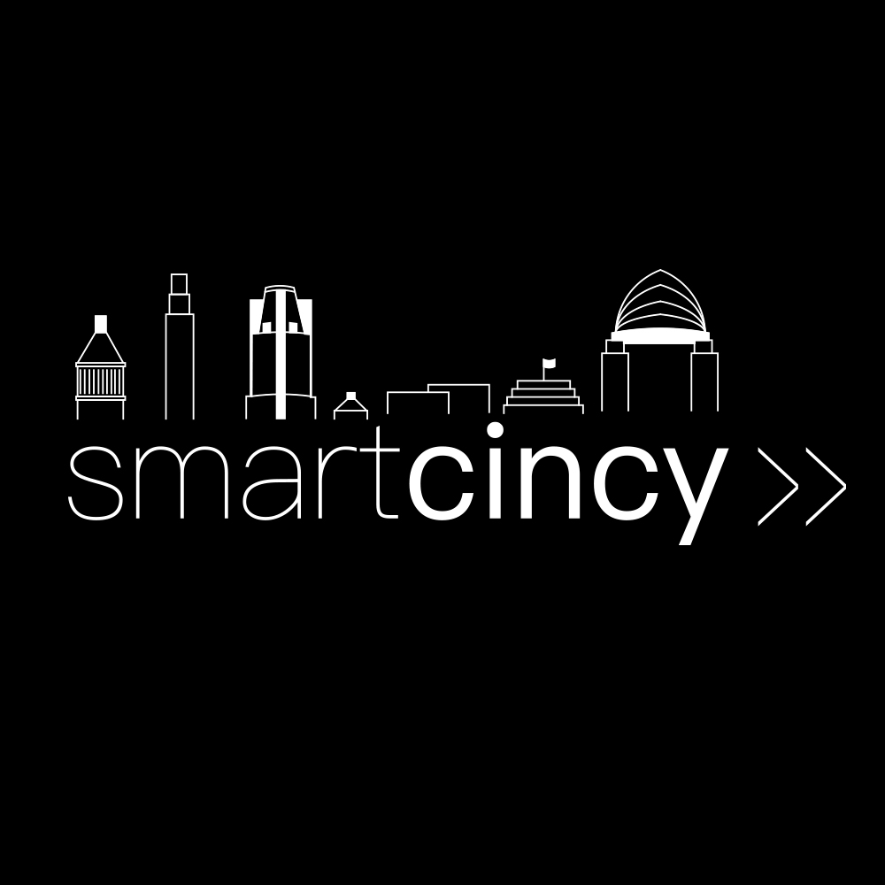 Smart Cincy Logo Display Black