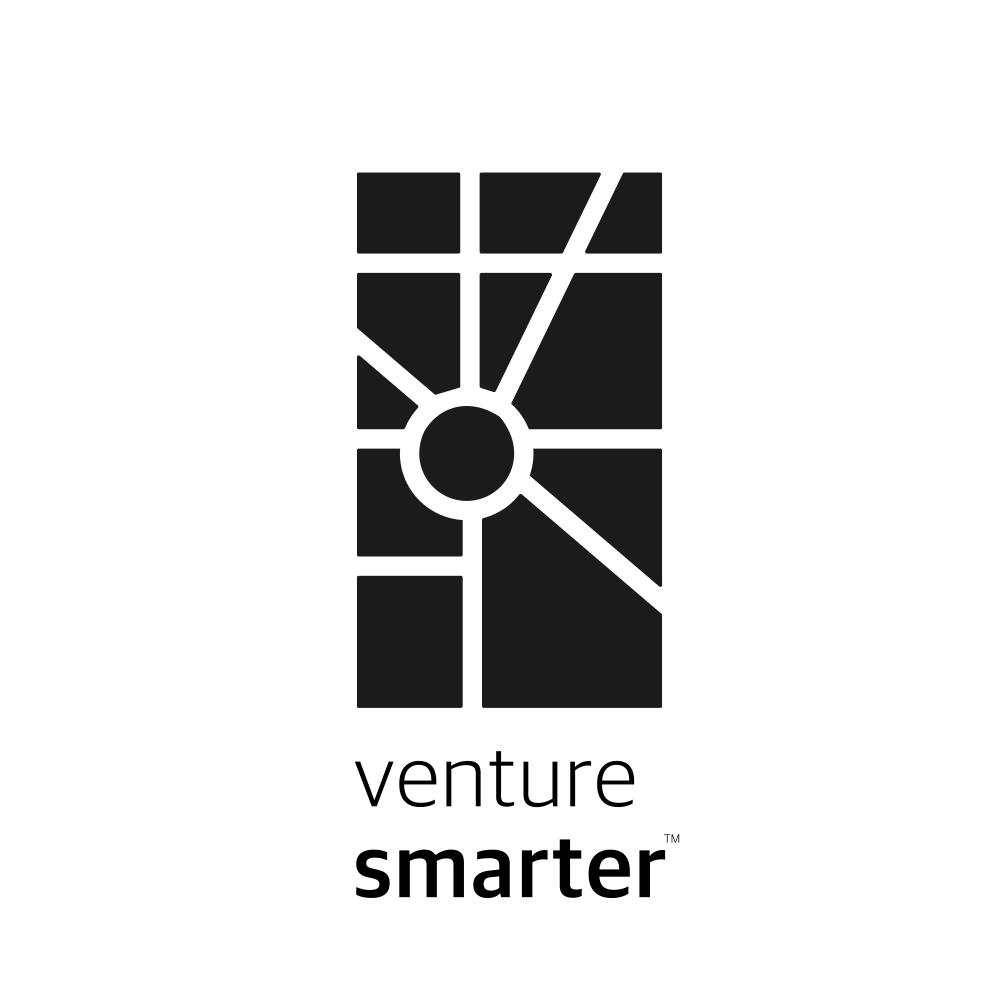 Venture Smarter Stacked Logo