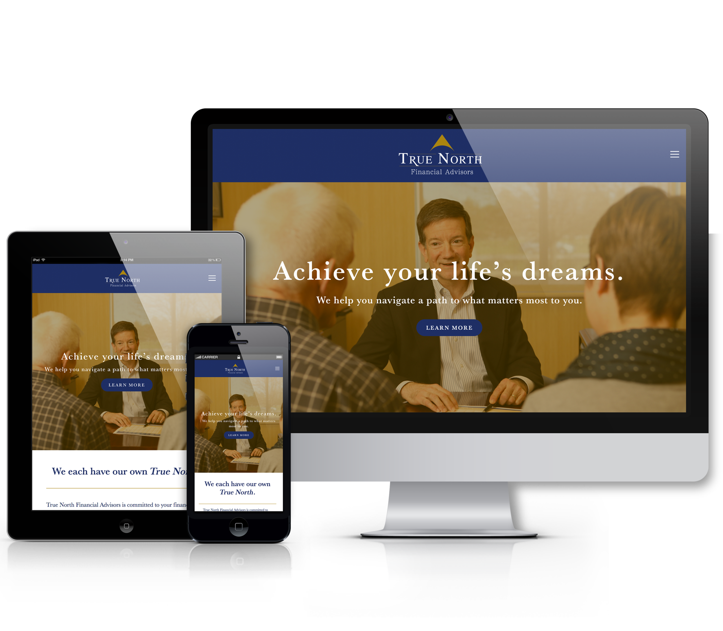 True North Financial Advisors Website Mockup.png