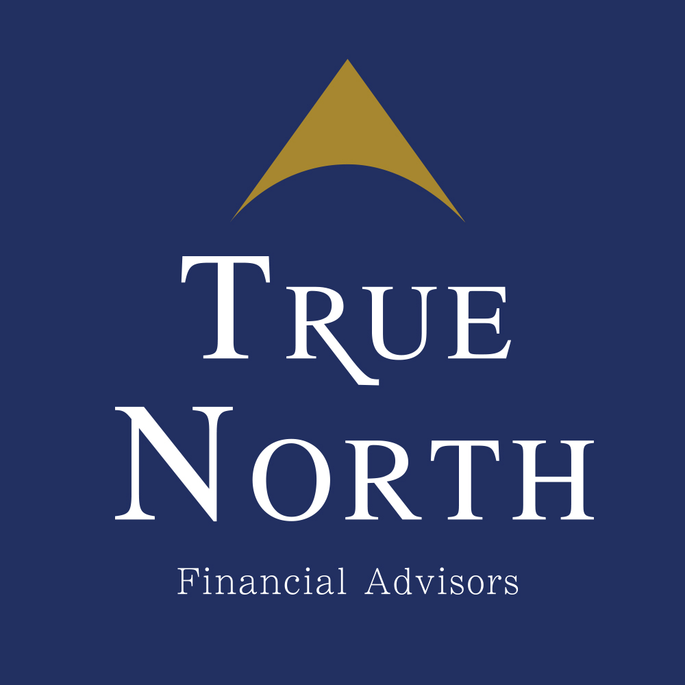 True North Financial Advisors Stacked Logo Dark