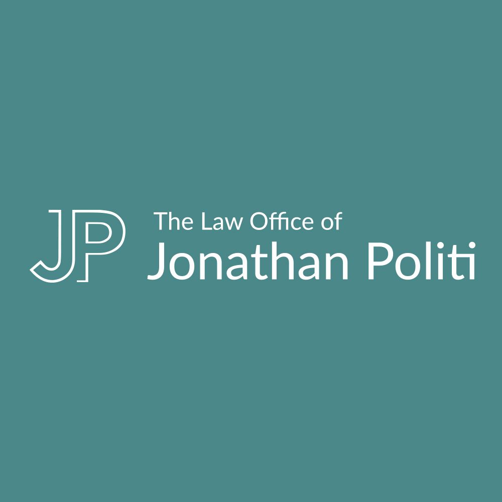 The Law Office of Jonathan Politi Logo Turquoise