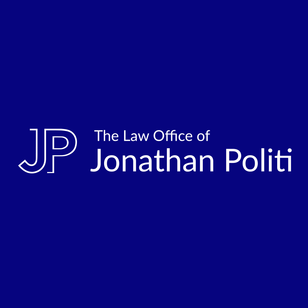 The Law Office of Jonathan Politi Logo Blue