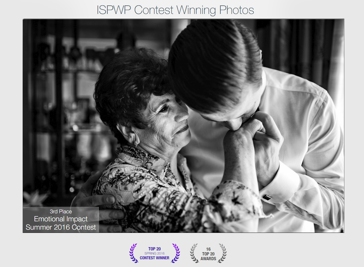 3rd palce at ISPWP - International Society of Professional Wedding Photographers Emotional Impact category SUMMER 2016 z.png
