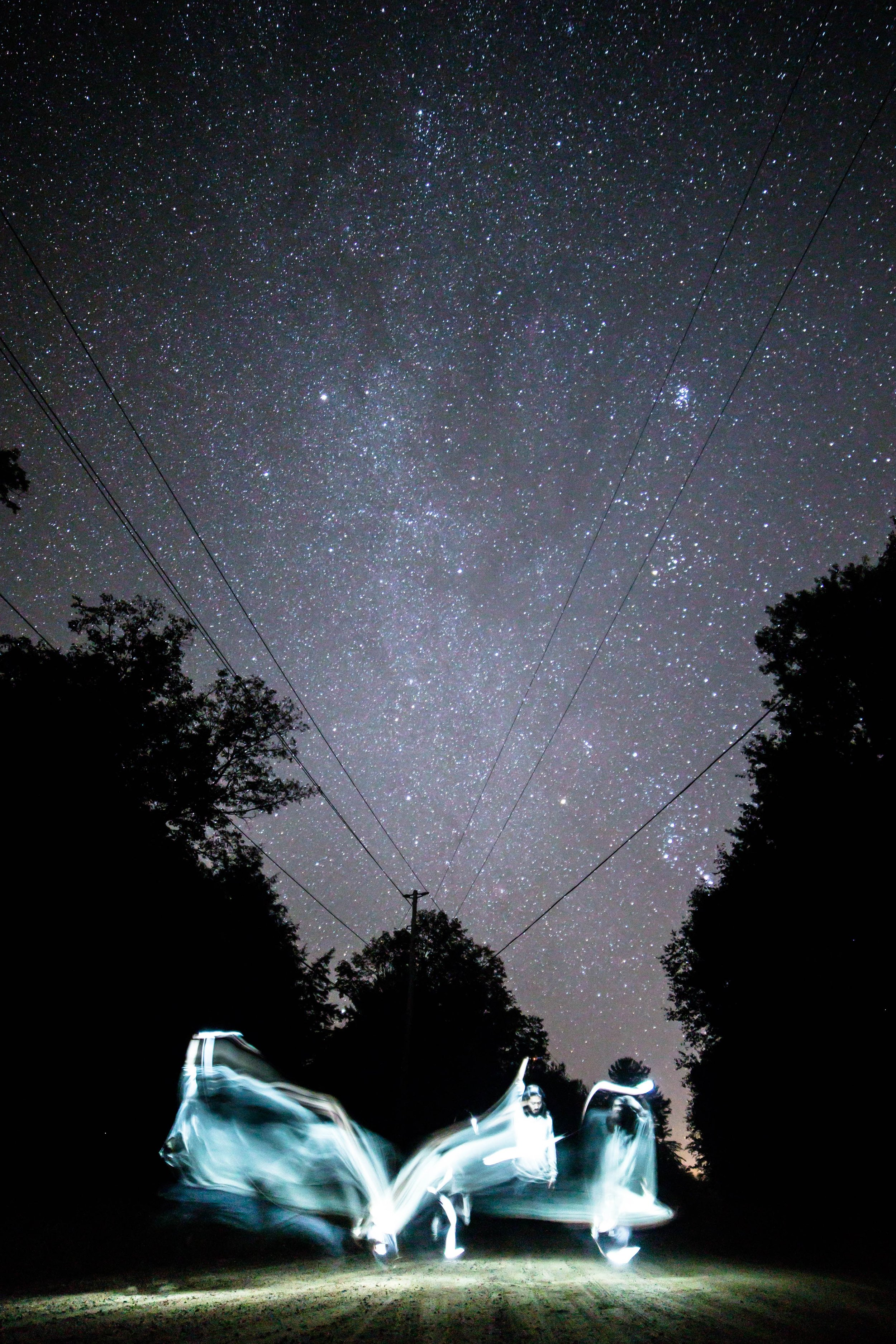 Cosmic Star Child photographed by Brian the Wizard in Mattawa, Ontario, Canada.