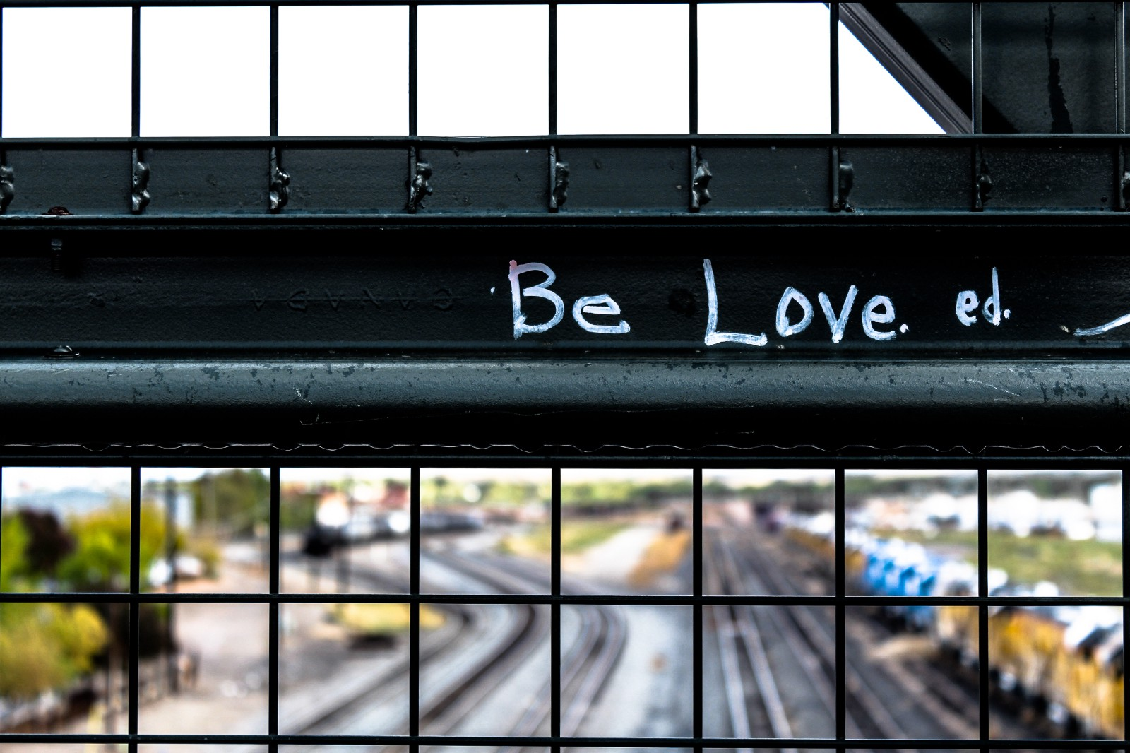 """black metal grill with be love ed text"" by  Elijah Macleod  on  Unsplash"