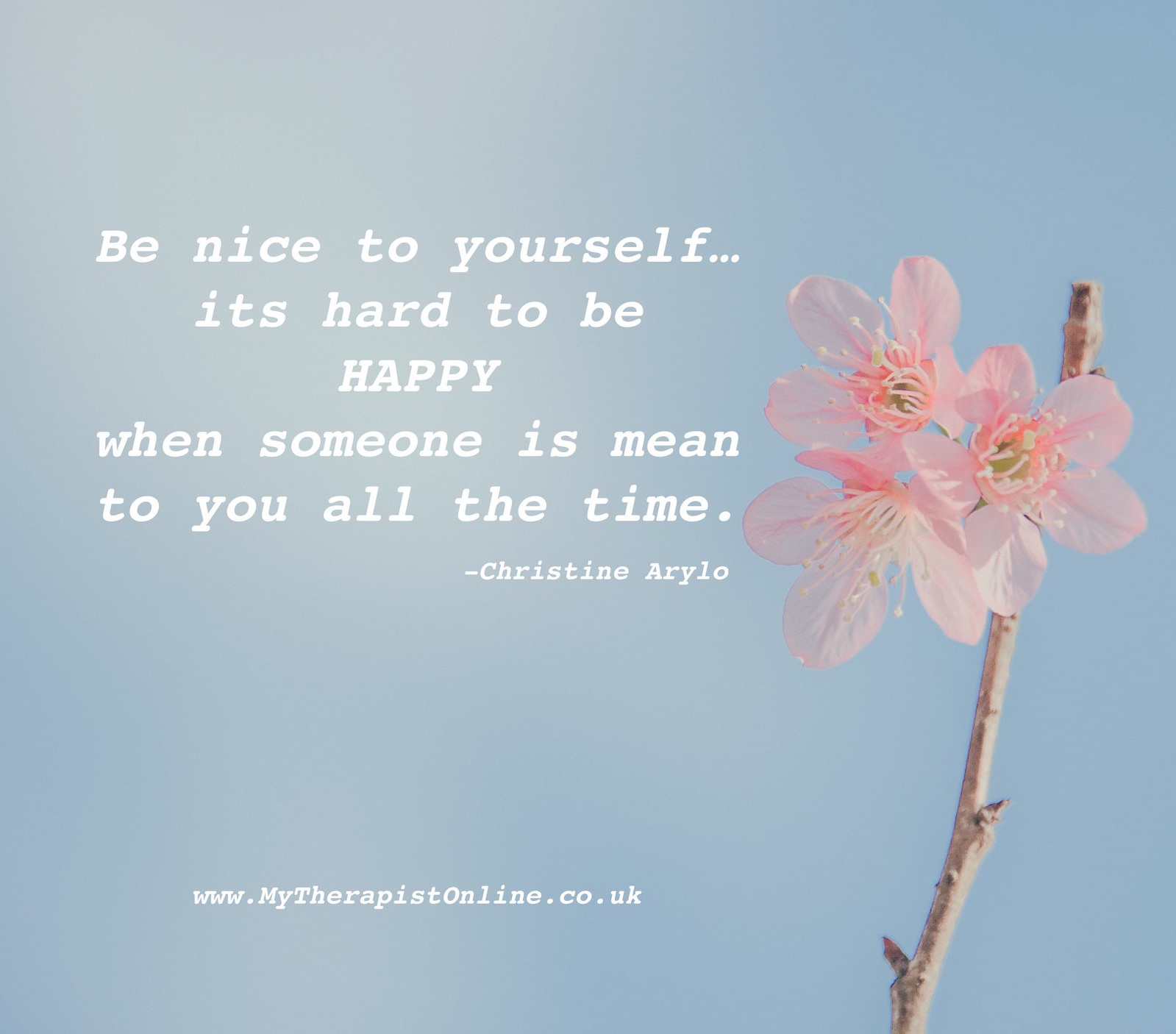 Online Therapy - UK - Be kinder to yourself - my therapist online
