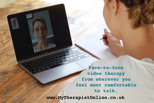 Online CBT therapy uk - Face to face - How does Online Therapy Work