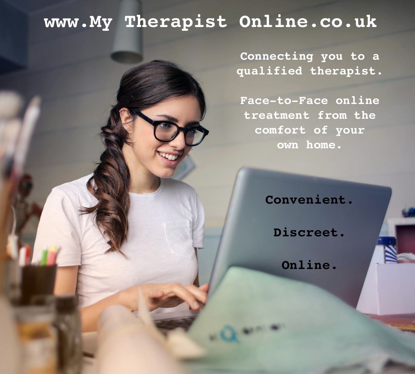 Online therapy - CBT - From home