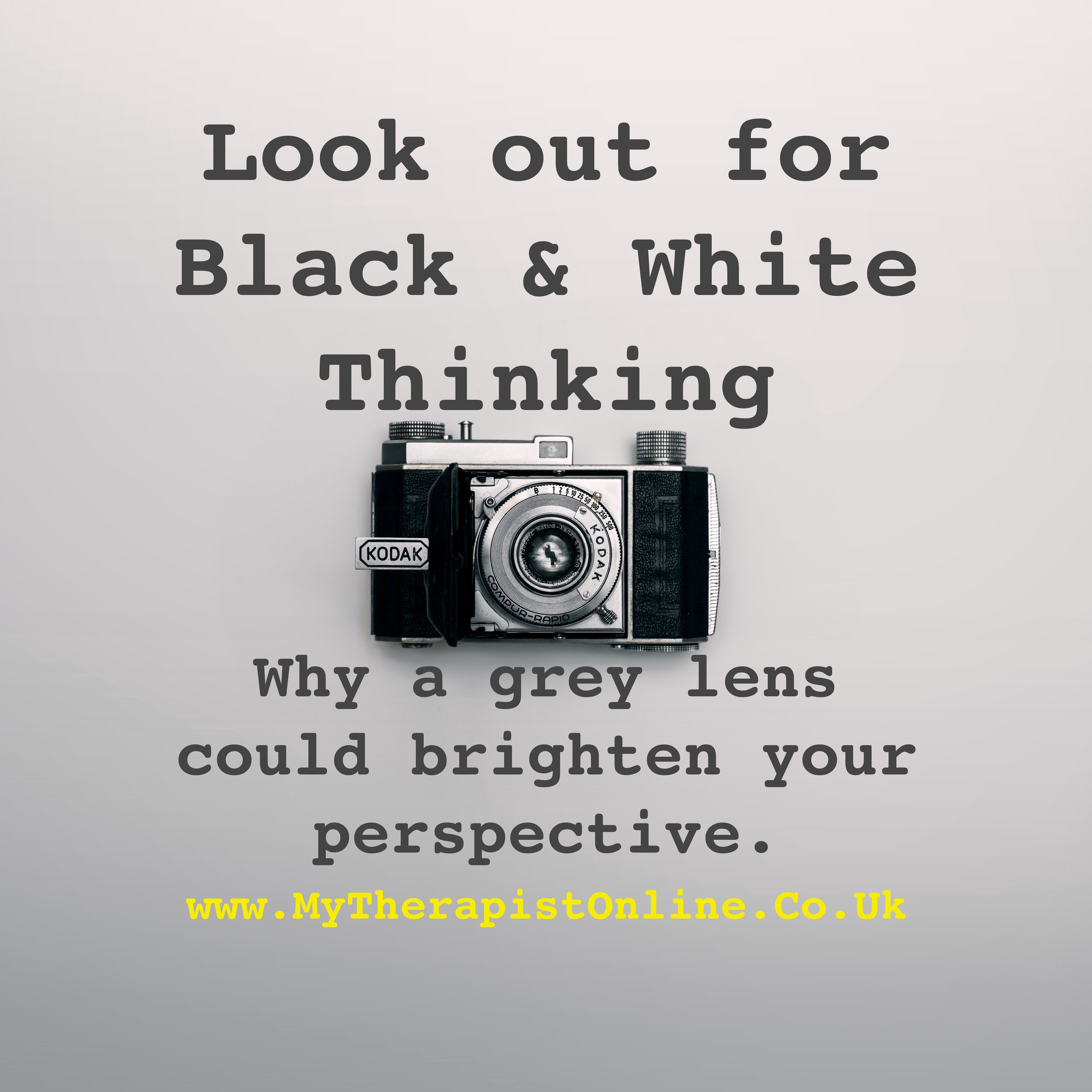 CBT Therapy + UK + Near me + Black and white thinking