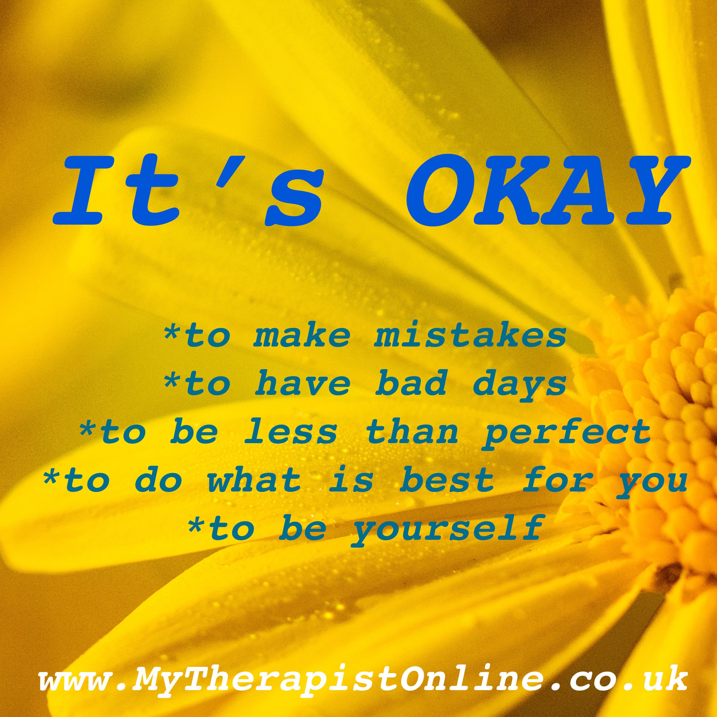 Online Therapy UK - My Therapist Online