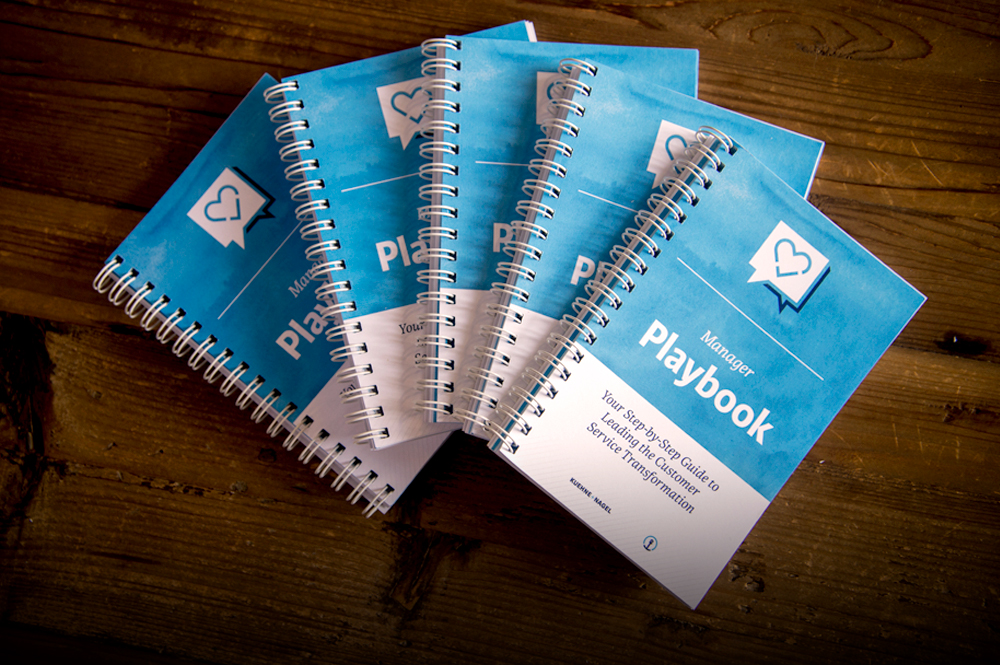 "Kuehne + Nagel managers have been critical to the company achieving its customer service goals. So we co-created a practical in-field ""playbook"" for them to use."