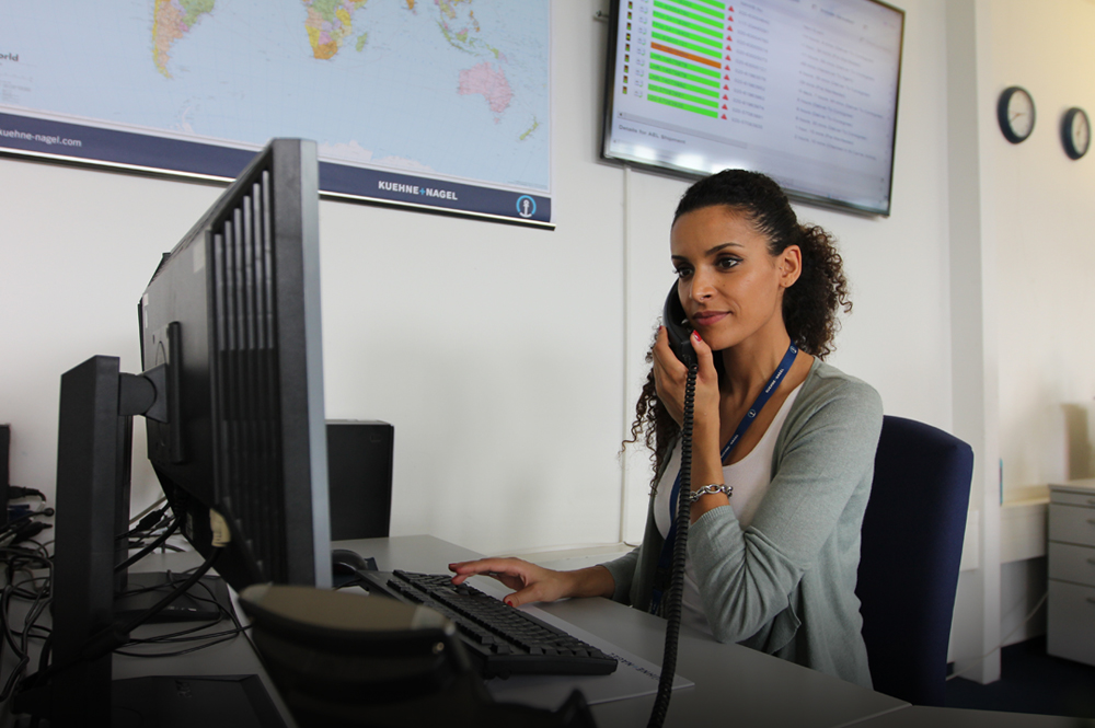 For a global company like Kuehne + Nagel, exemplary customer service happens across many touchpoints and timezones.Each touchpoint is an opportunity to foster customer relationships. Photo courtesy of Kuehne + Nagel International AG.