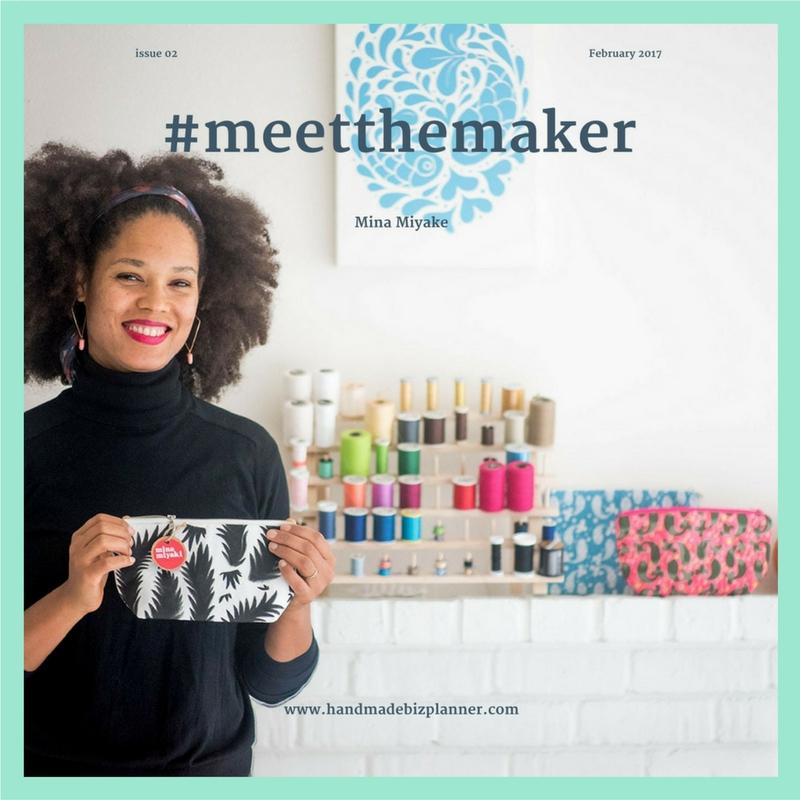 Handmade Biz Planner meets Mina Miyake