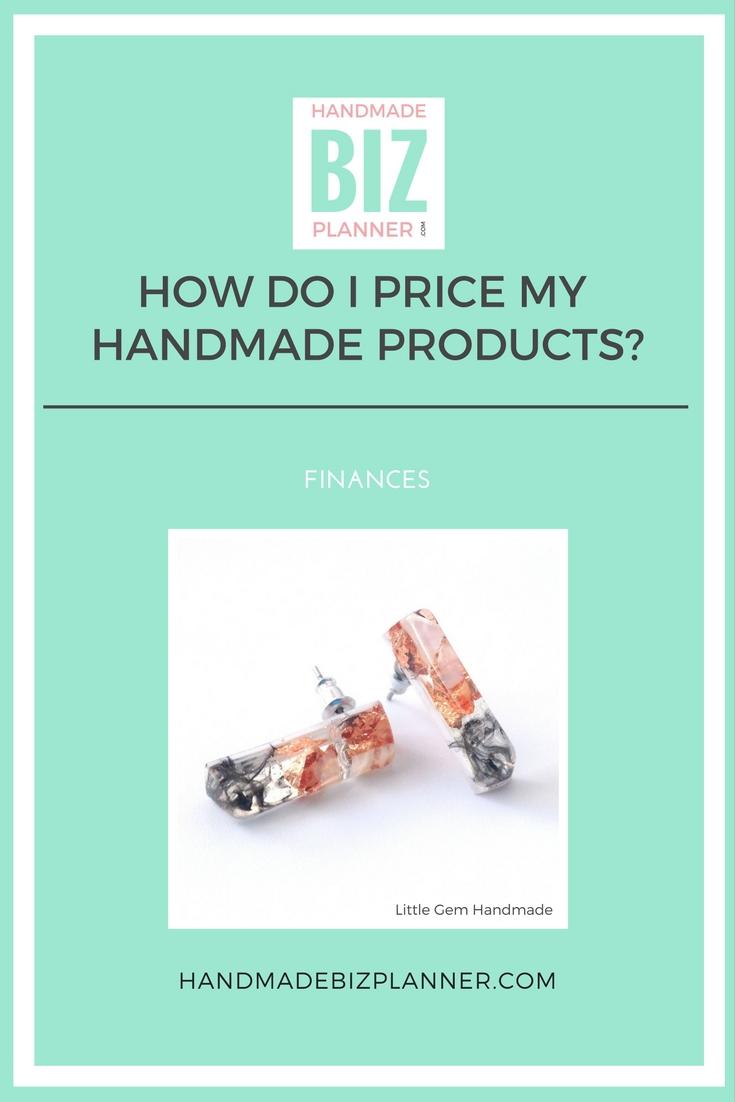 Handmade Biz Planner Blog How do I price my handmade products