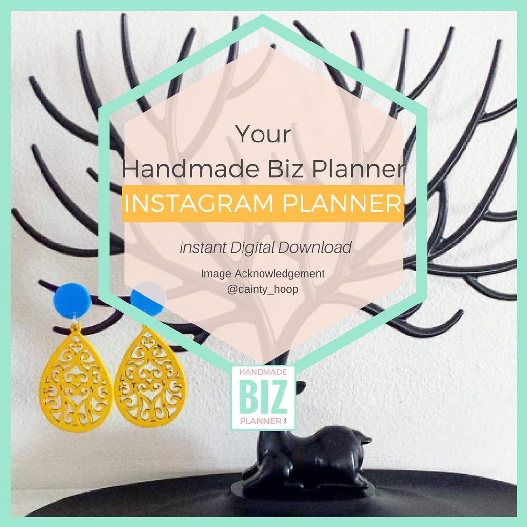 Handmade-biz-planner-Instagram-Planner