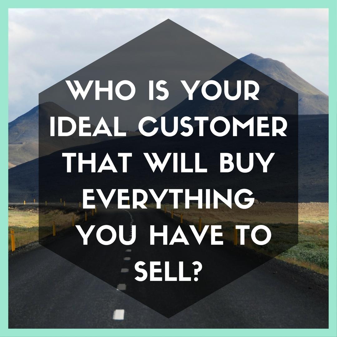 Handmade Biz Planner who is your ideal customer?