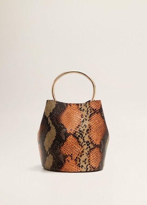 Snake Printed Bag