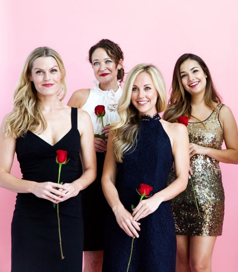 THE BACHELOR - CONTESTANTS - Just throw on the fanciest dress you own and don't forget the rose!