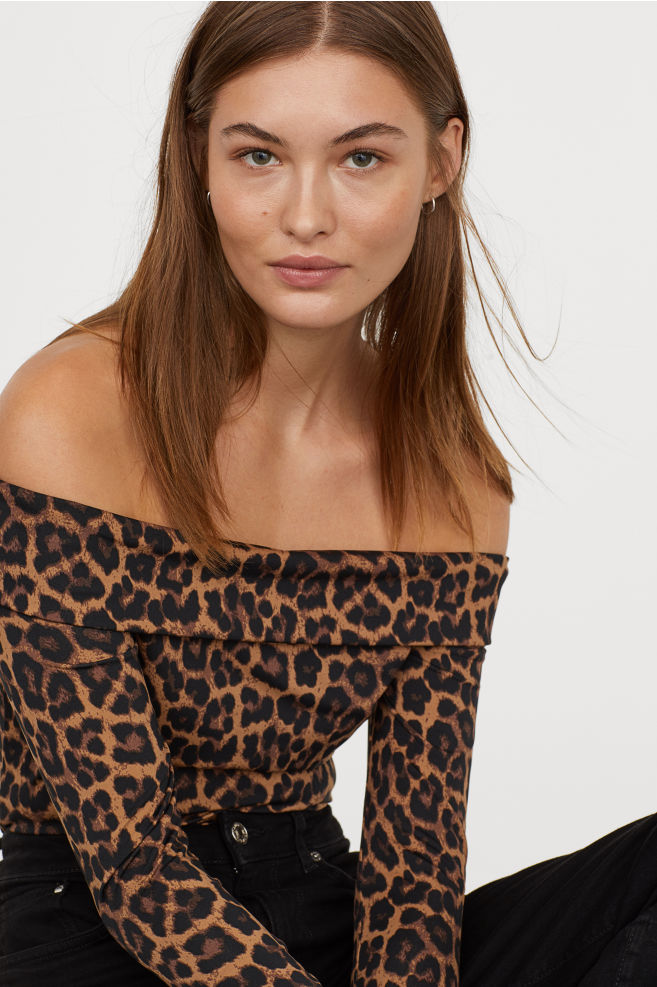 Off-the-shoulder Top H&M